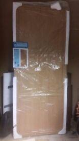 BnQ Sliding wardrobe wood panel door