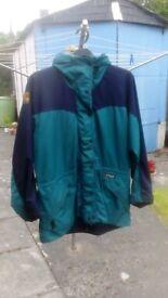 Paramo ladies jacket Green and black size medium
