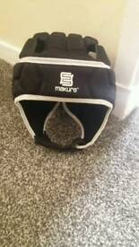 Goalkeeper protective head guard