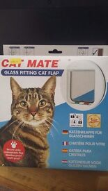 Cat flap (glass fitting) - unused in original packaging
