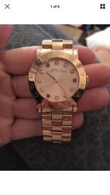 Marc Jacobs Amy rose gold watch
