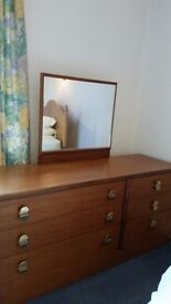 Dressing Table and Bedside cupboard