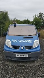Renault Traffic 59 plate Non Runner