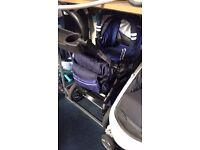 Baby merc style bouncy pram/pushchair