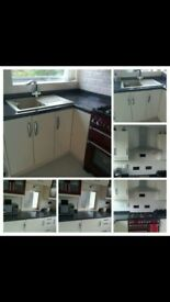 Nearly New Kitchen Units For Sale