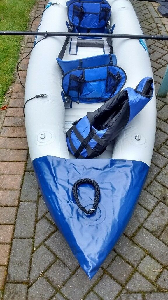 Inflatable Kayak and extras