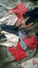 Bundle of baby girls clothes 0-3 months.