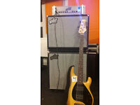 Aguilar DB751 and DB115, bass amp and cab, best condition