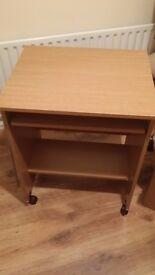 Oak Coloured Desk