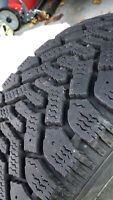 195/60R15 Winter Tires with rims VOLVO/Goodyear Nordic Snowflake