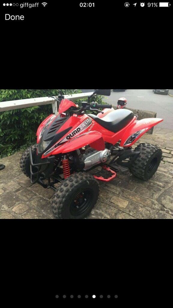 Quad quadzilla dinli 320e road legal