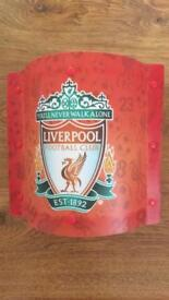Liverpool curtains and light shade
