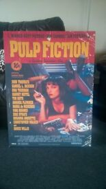 Pulp Fiction Canvas Picture (great condition)