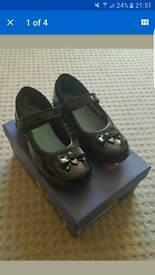 Girls Clarks shoes 10.5E