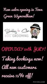 Shabby to Chic Dog Grooming