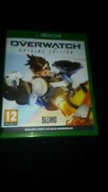XBOX ONE GAMES OVERWATCH