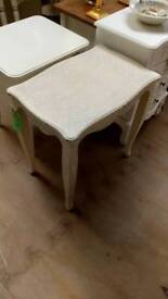 Table little dressing table coffee painted