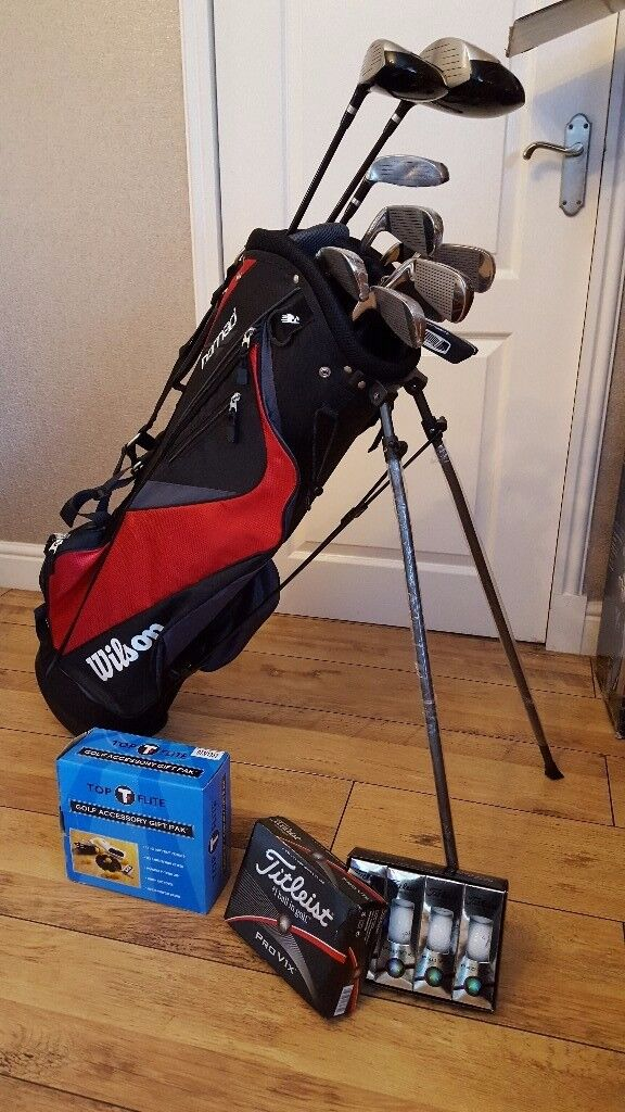 Wilsons Linear XD mens golf set. Brand new still in box with accessories.