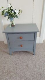 Bedside table (only one) finished in Rustoleum Furniture Paint