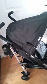 Hauck Tango Pushchair with raincover brand new + 2 presents