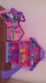 Minnie mouse play house and furniture sets