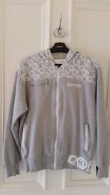 Mens Small Size Grey Ripstop Hoodie Jumper,Zipped Pockets,Great condition,Contact me asap, Cheap £12