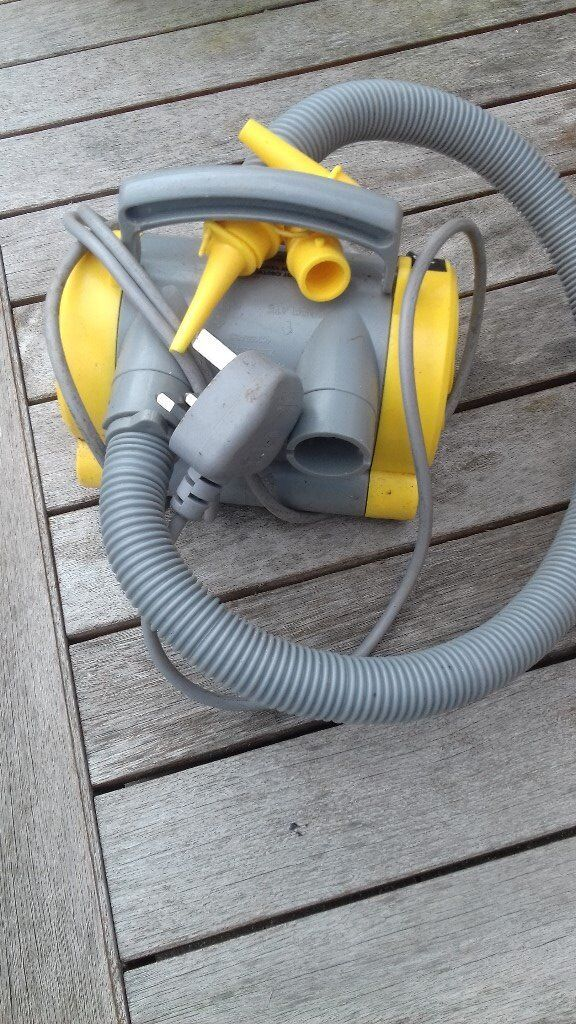 ELECTRIC AIR PUMP RAPID INFLATE/DEFLATE WITH NOZZLES,FOR AIR BEDS,POOLS,ETC.