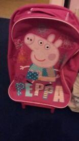 Peppa pig suitcase