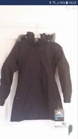 Brand new with tag-Female black trespass parker Size Xs (8)