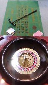 complete roulette set £5