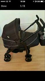 Silver cross 3D mono dottravel system with car seat