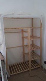 White argos fabric wardrobe