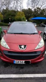 Very good condition 207 5 door, cheap tax, new battery. Excellent small family car or first car