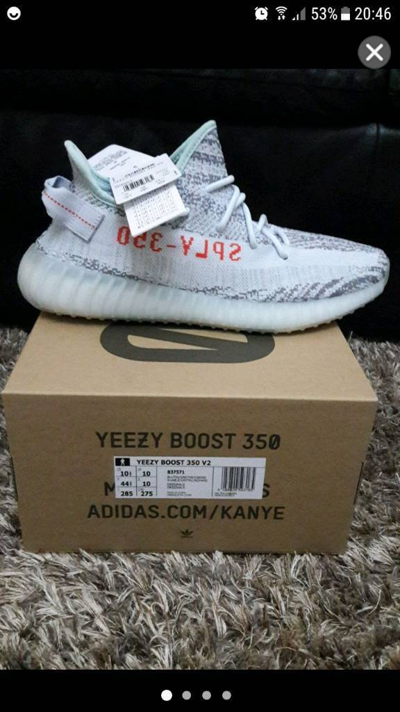 ac14d15eda3 Yeezy boost 350 v2 blue tint genuine size 8