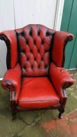 chesterfield arm chair