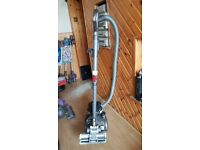 black Dyson DC19 Cylinder Hoover bagless new motor fitted 2 months warranty just with