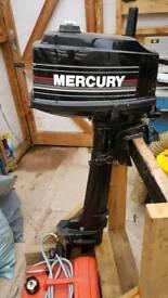 Mercury 5hp outboard
