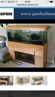 100 gallon aquarium and stand