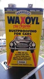 Waxoyl 2 5lt tins