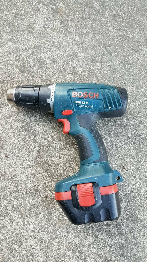 Bocsh GSR12v cordless drill  | in Malton, North Yorkshire | Gumtree