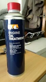 Halfords Engine Oil Treatment 500ml for Diesel and Petrol Improved Performance