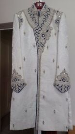 Wedding groom indian Pakistani Sherwani new
