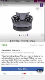 Farrow swivel chair