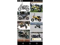 WANTED orginal monkey bike (Honda or Genuine makes)