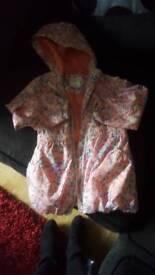 Girls rain coat from M&S 5-6 years