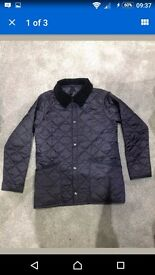 Boys barbour coat age 8-9