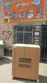 PITCO CE-35CS CHIPS FRYER BRAND NEW NATURAL GAS DOUBLE BASKET 3 BURNER