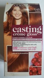 L'oreal Casting Creme Gloss Hair Color, Amber 645
