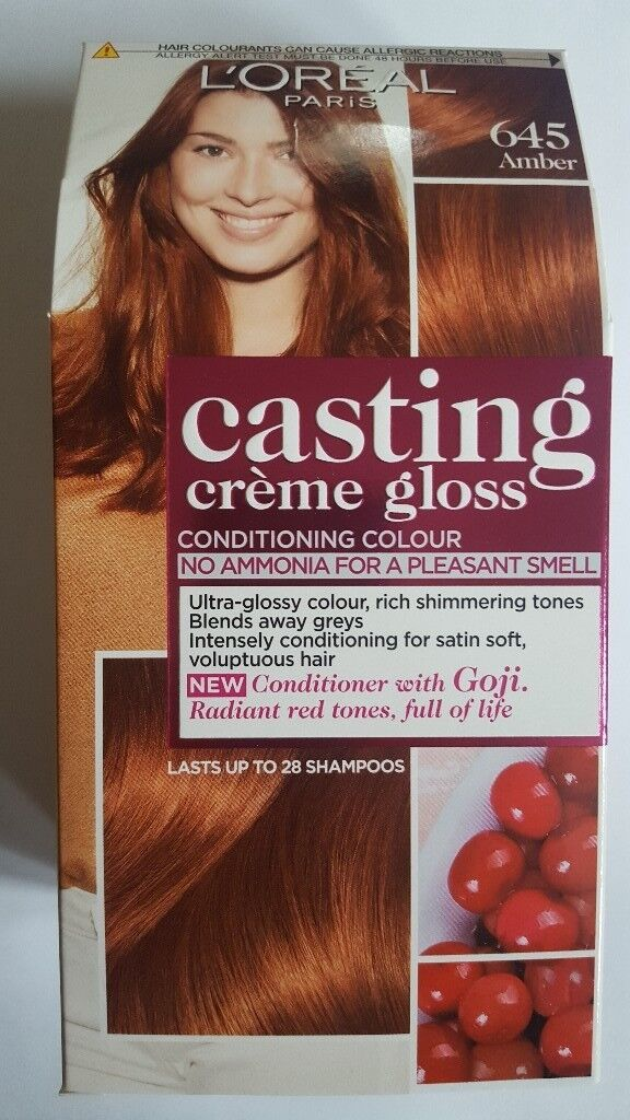 Loreal Casting Creme Gloss Hair Color Amber 645 In Newhaven