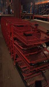 Lot of National Cart Co shopping carts Model # 500141